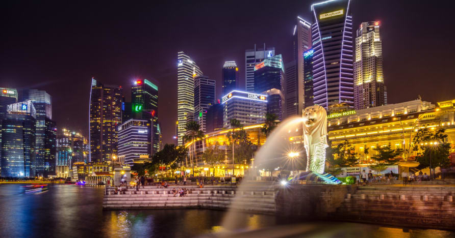 Uhkapeli Singaporessa