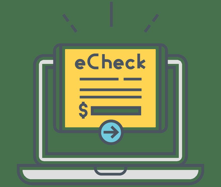 Top 5 eChecks Nettikasinos 2021 -Low Fee Deposits