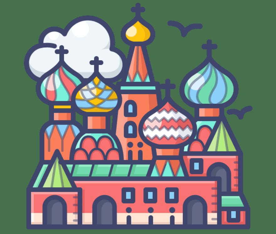 Parhaat 83 Nettikasino -peliä luokassa Venäjä 2021