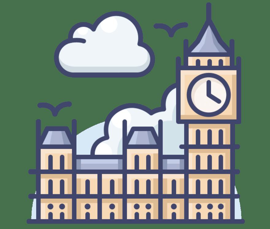 Parhaat 49 Nettikasino -peliä luokassa Iso-Britannia 2021