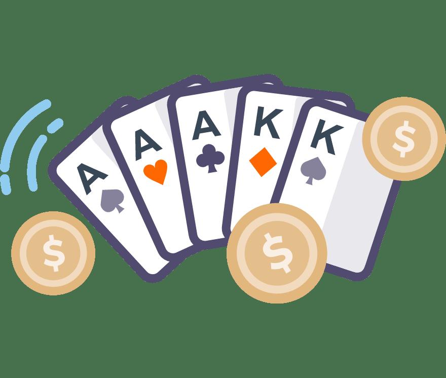Pelaa Pokeri verkossa -Suosituimmat 121 eniten maksavaa Nettikasinoä 2021