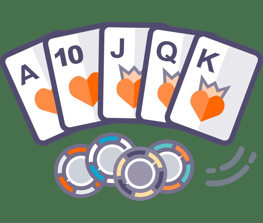 Pelaa Texas Holdem verkossa -Suosituimmat 53 eniten maksavaa Nettikasinoä 2021