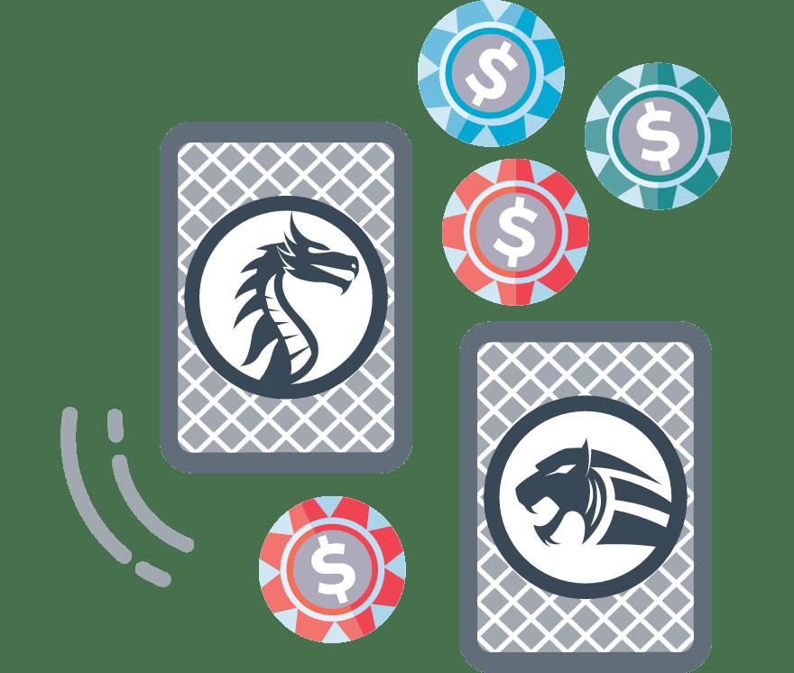 Pelaa Dragon Tiger verkossa -Suosituimmat 55 eniten maksavaa Nettikasinoä 2021