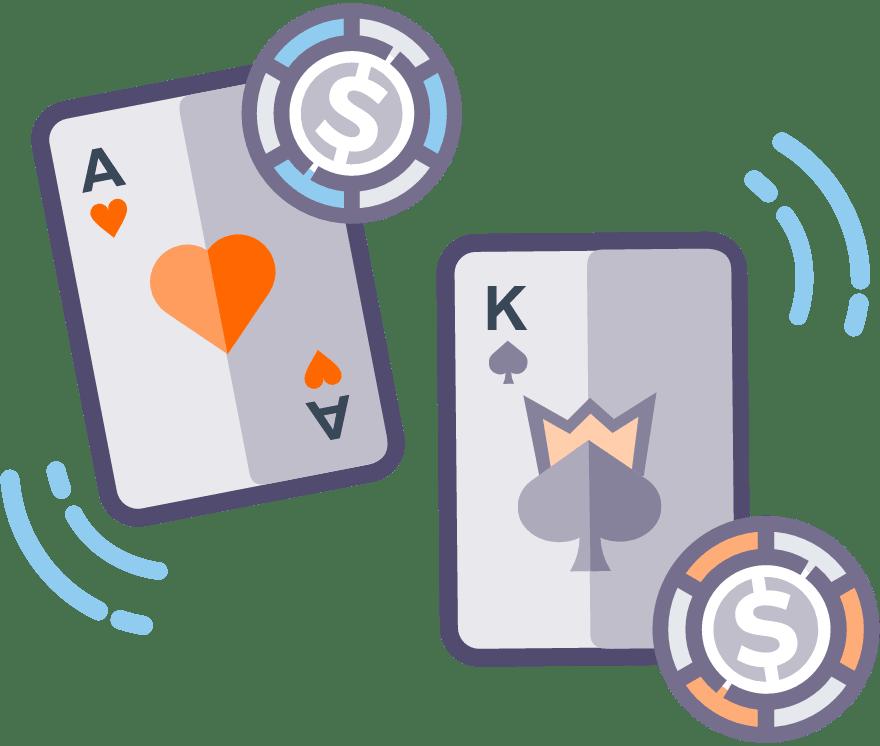 Pelaa Casino War verkossa -Suosituimmat 11 eniten maksavaa Nettikasinoä 2021